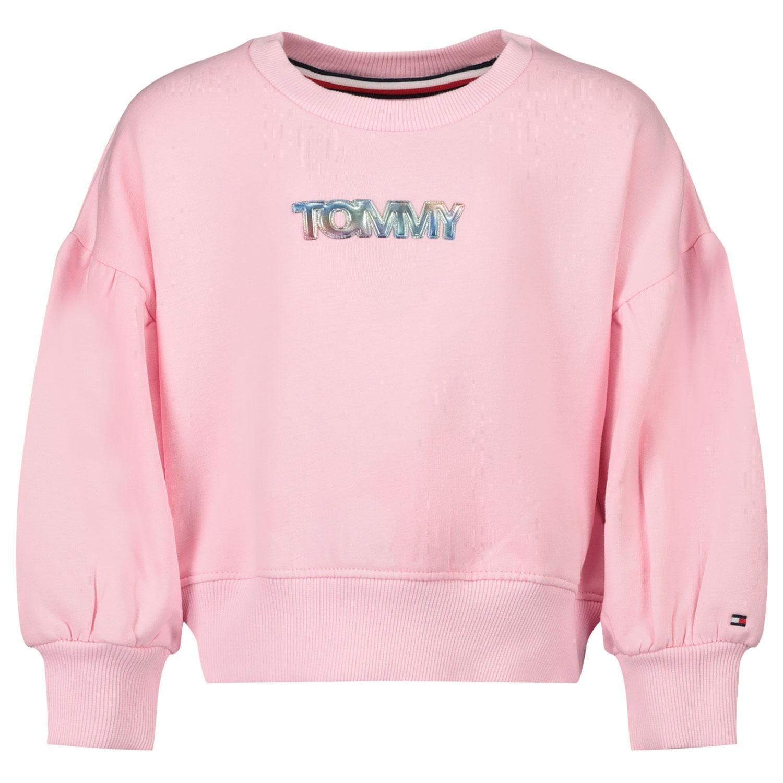 Afbeelding van Tommy Hilfiger KG0KG05493B baby trui licht roze
