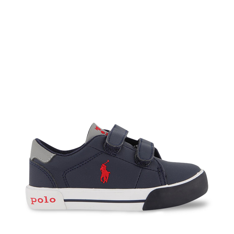 Afbeelding van Ralph Lauren GRAFTYN EZ kindersneakers navy