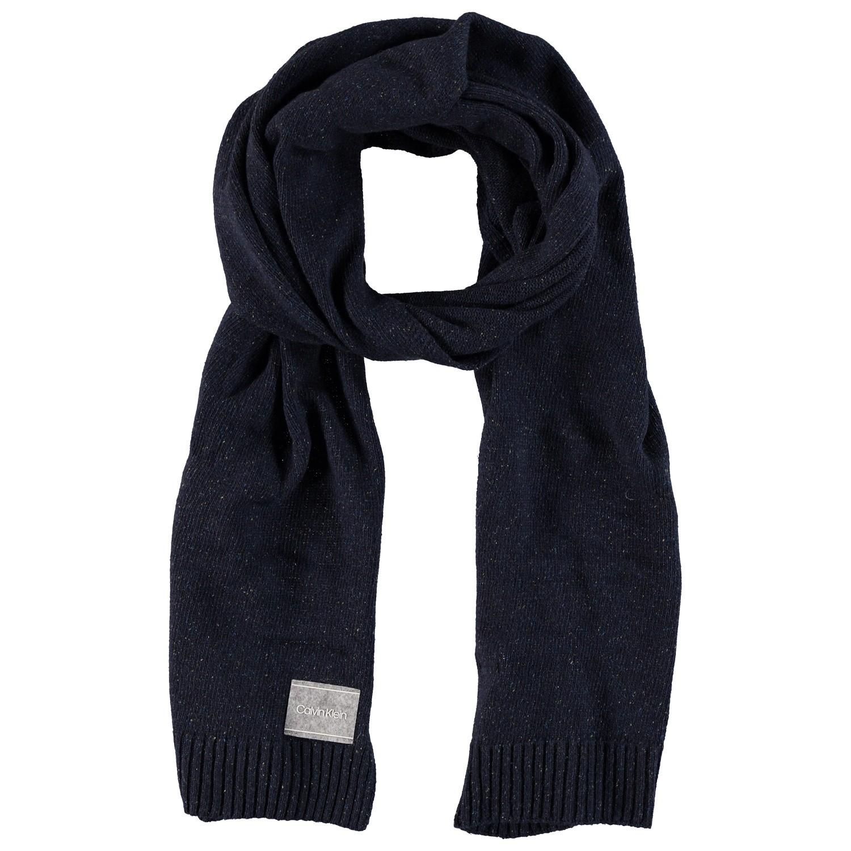 Afbeelding van Calvin Klein K50K504131 heren sjaal navy