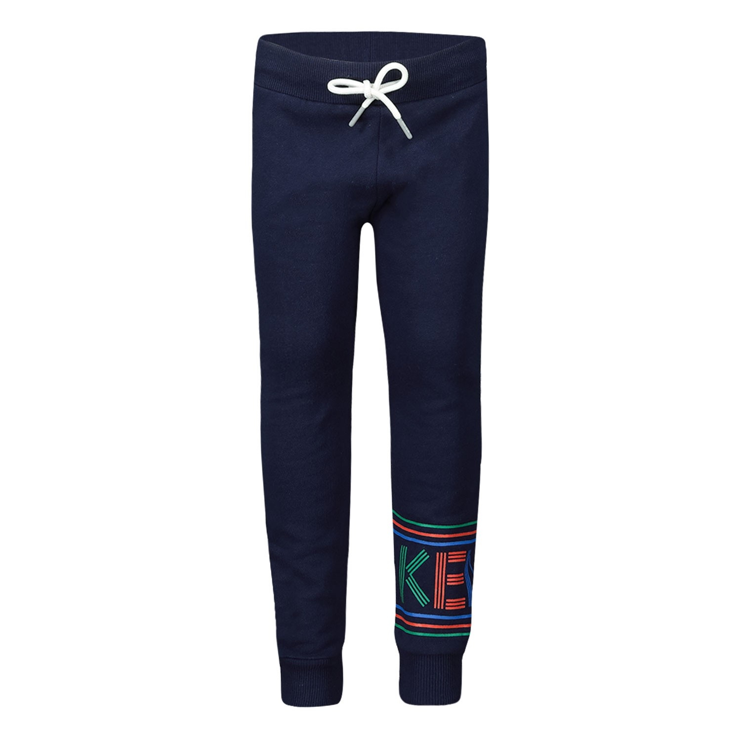 Picture of Kenzo KP23557 baby pants navy