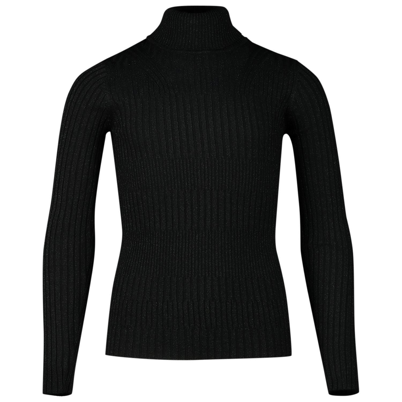 Afbeelding van Jacky Luxury JGFF19012 kinder t-shirt zwart