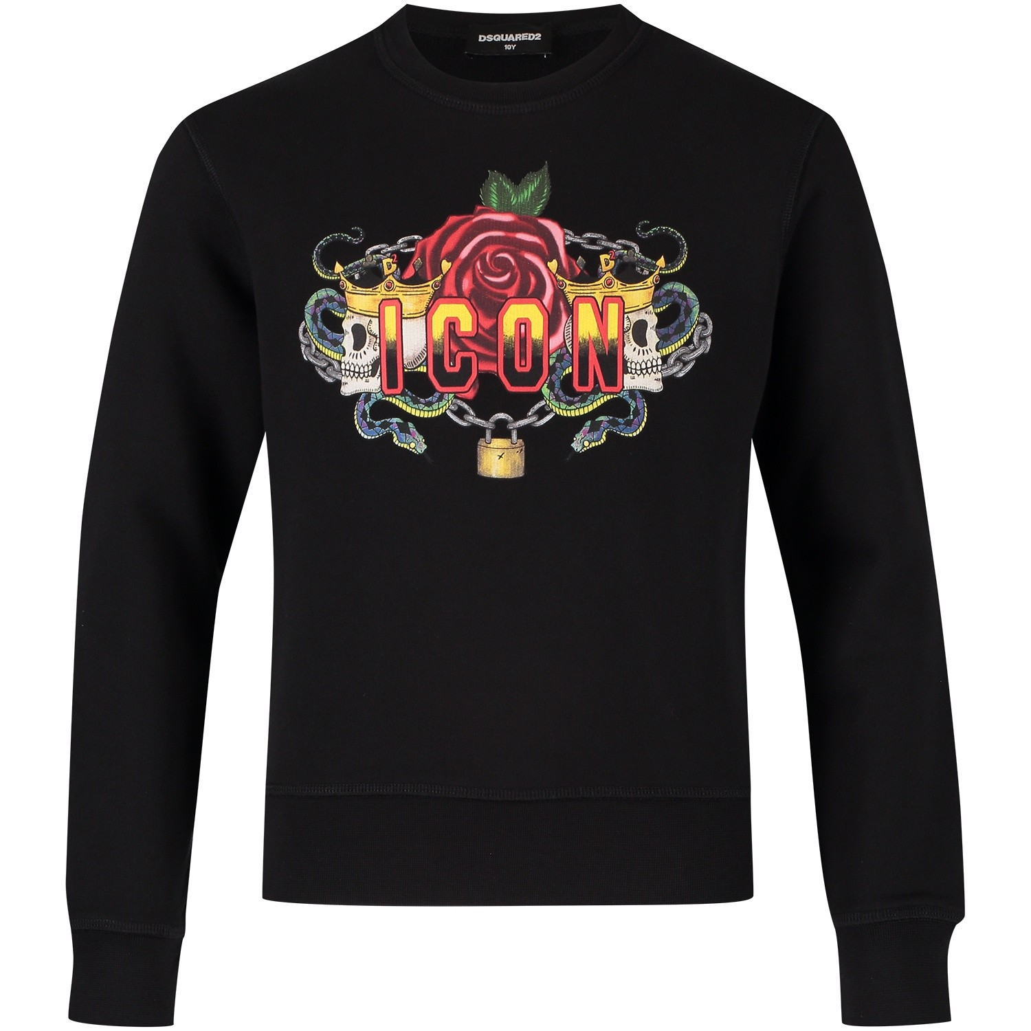 Picture of Dsquared2 DQ02W2 kids sweater black