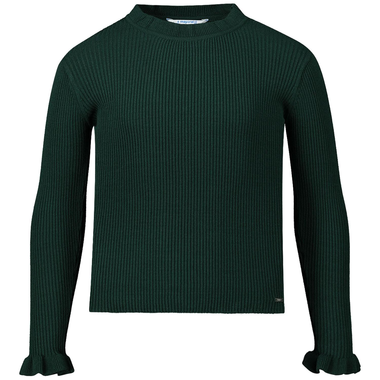 Afbeelding van Mayoral 4003 kinder t-shirt donker groen