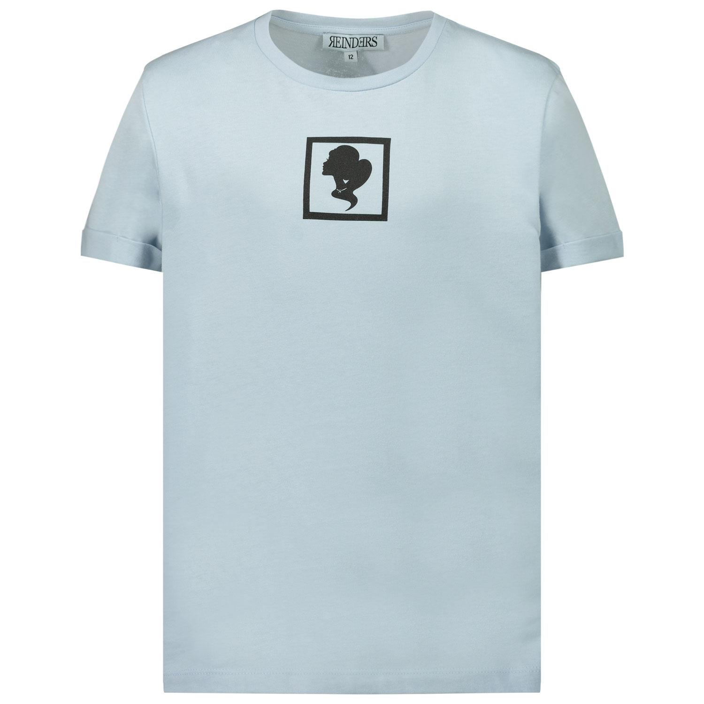 Afbeelding van Reinders G2331 kinder t-shirt licht blauw