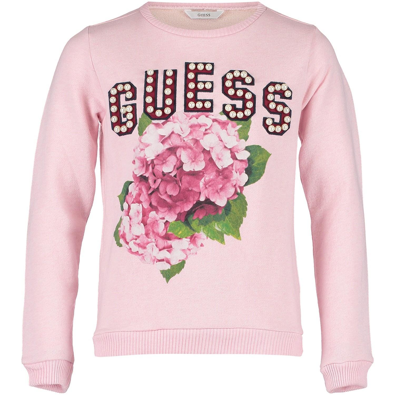 Afbeelding van Guess J83Q02 kindertrui roze