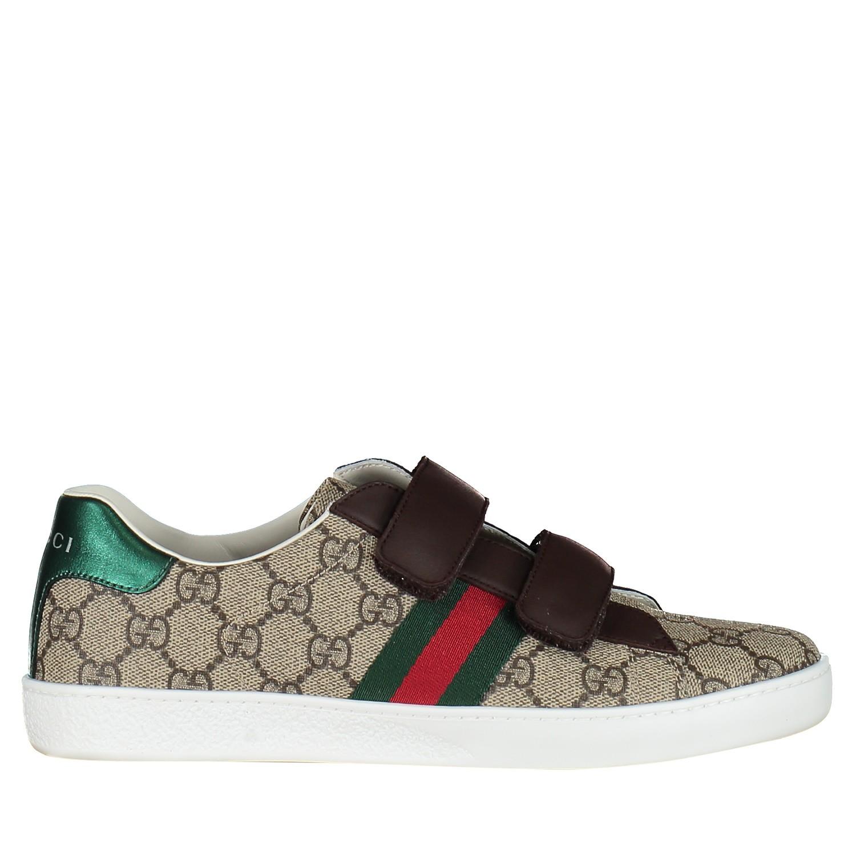 Afbeelding van Gucci 463091 kindersneakers bruin