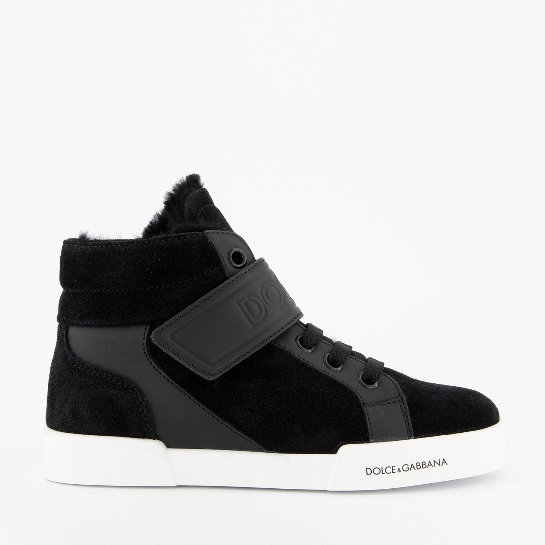 Afbeelding van Dolce & Gabbana DN0121 kinderschoenen zwart