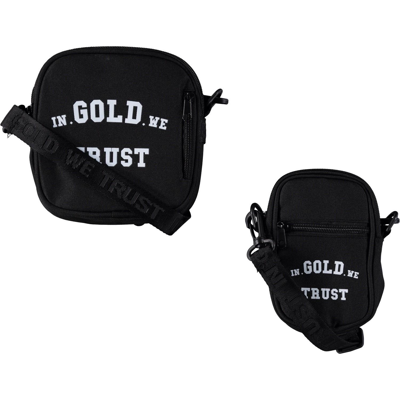 Afbeelding van in Gold We Trust FAB002 heren tas zwart