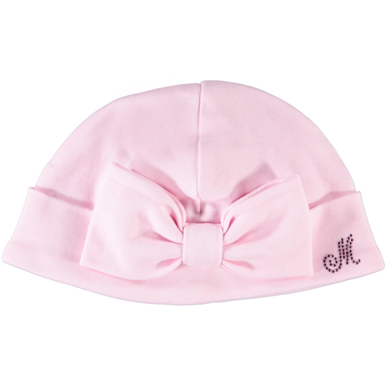 Afbeelding van MonnaLisa 35CCAP babymutsje licht roze