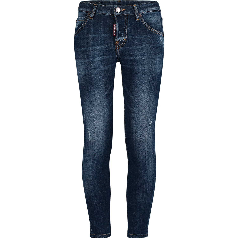 Afbeelding van Dsquared2 DQ01PX D00TG kinderbroek jeans