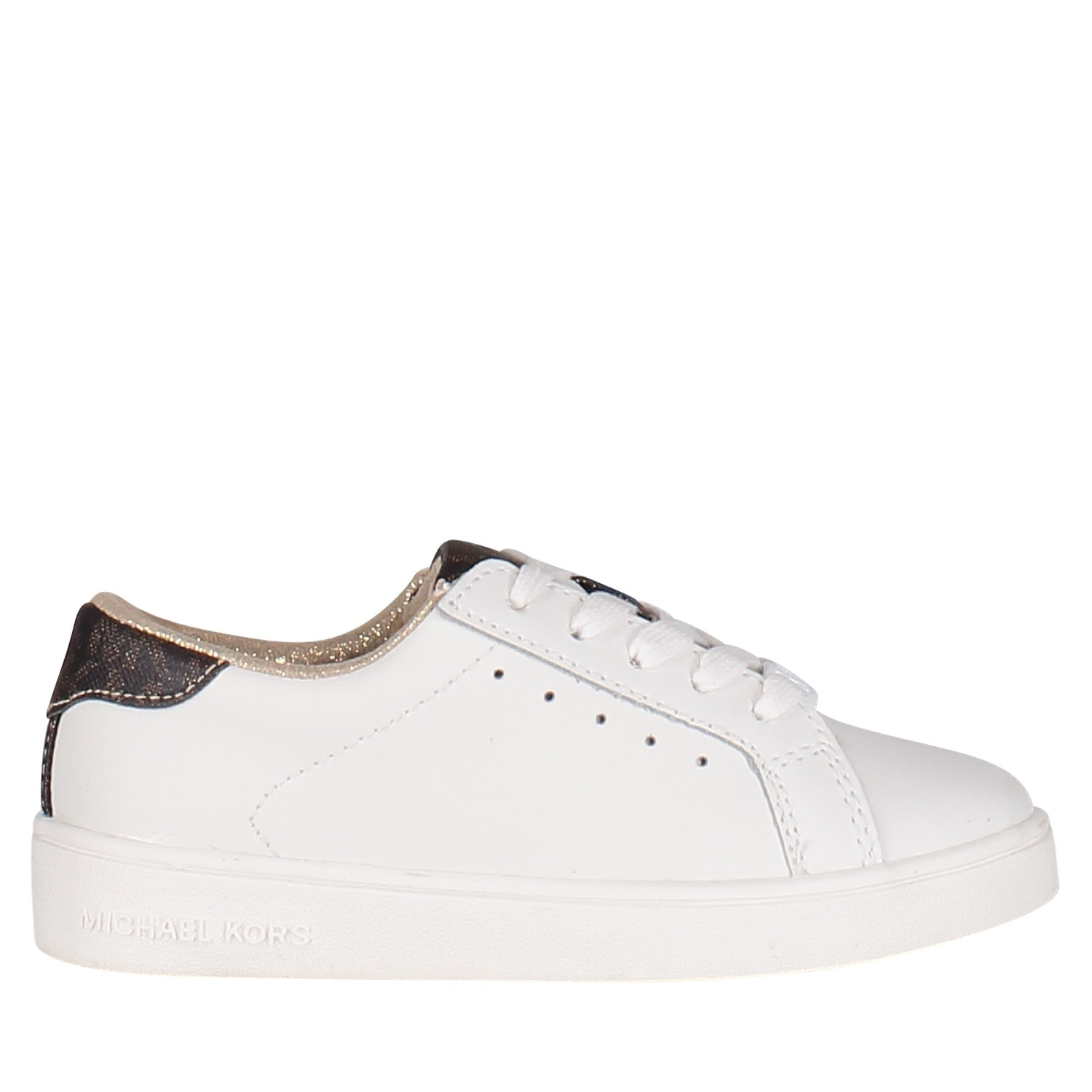 Picture of Michael Kors ZIA IVY ALISHA kids sneakers white