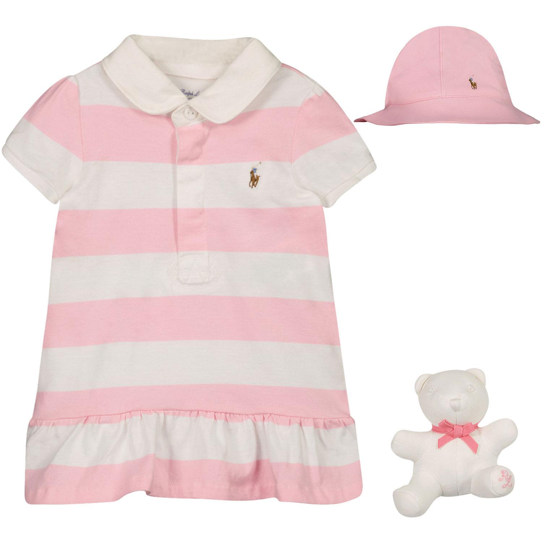Afbeelding van Ralph Lauren 310836334 babysetje roze