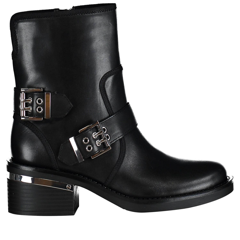 Guess Dames Flfii4lea10 Zwart Sneakers Coccinelle Bij 66FSqxTr