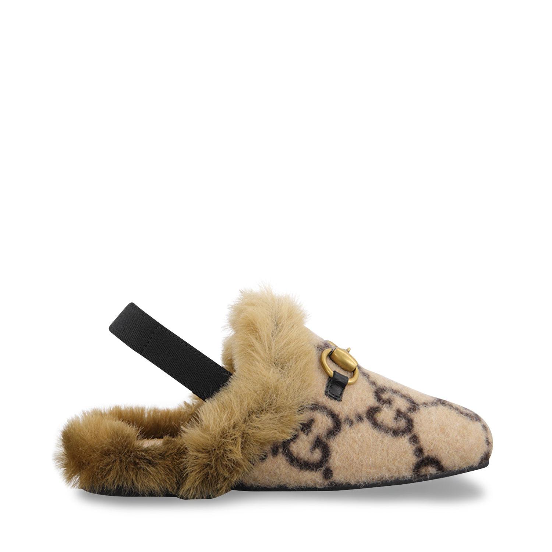 Afbeelding van Gucci 629115 kinderschoenen beige