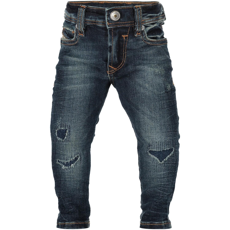 Afbeelding van Diesel 00K1UC KXA56 babybroekje jeans