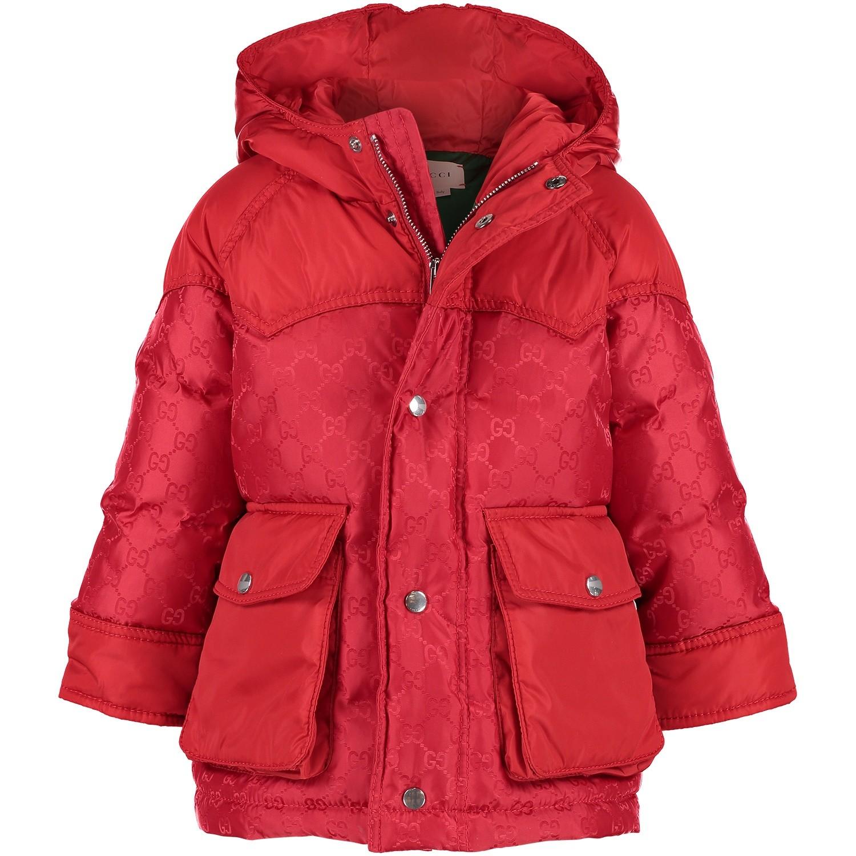 Afbeelding van Gucci 512273 babyjas rood