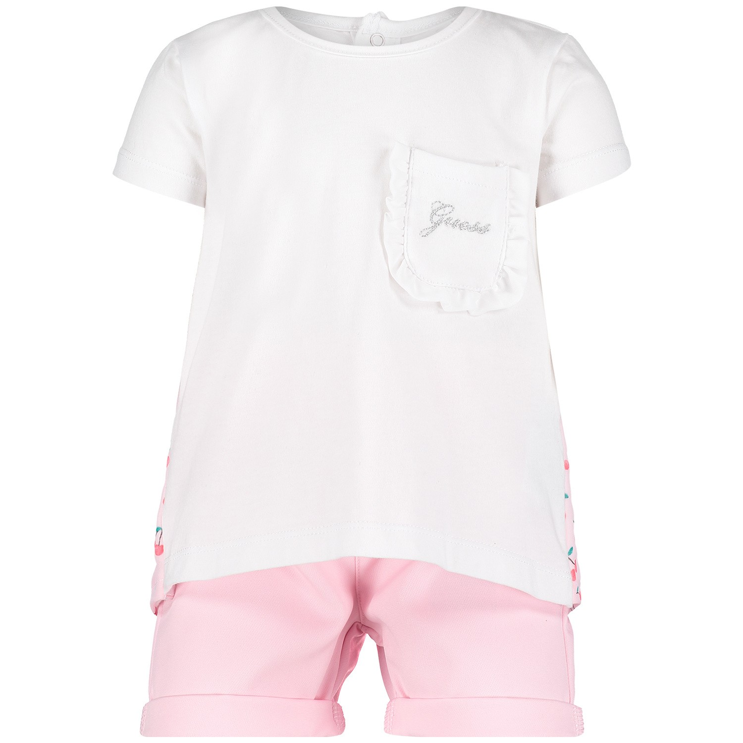 Picture of Guess A92G06 baby set white