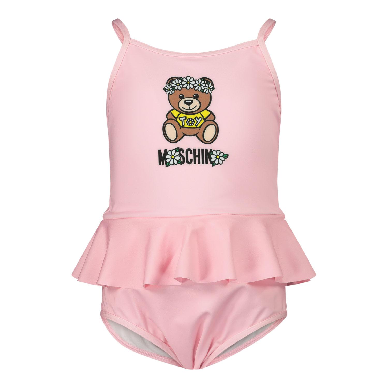 Afbeelding van Moschino MDL00E baby badkleding roze