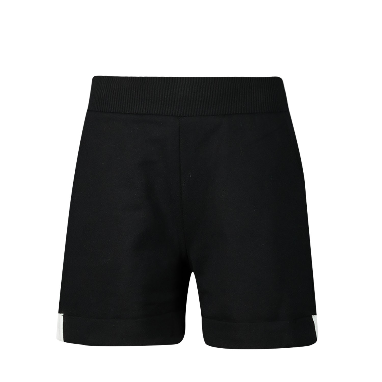 Afbeelding van MonnaLisa 195408RE kinder shorts zwart
