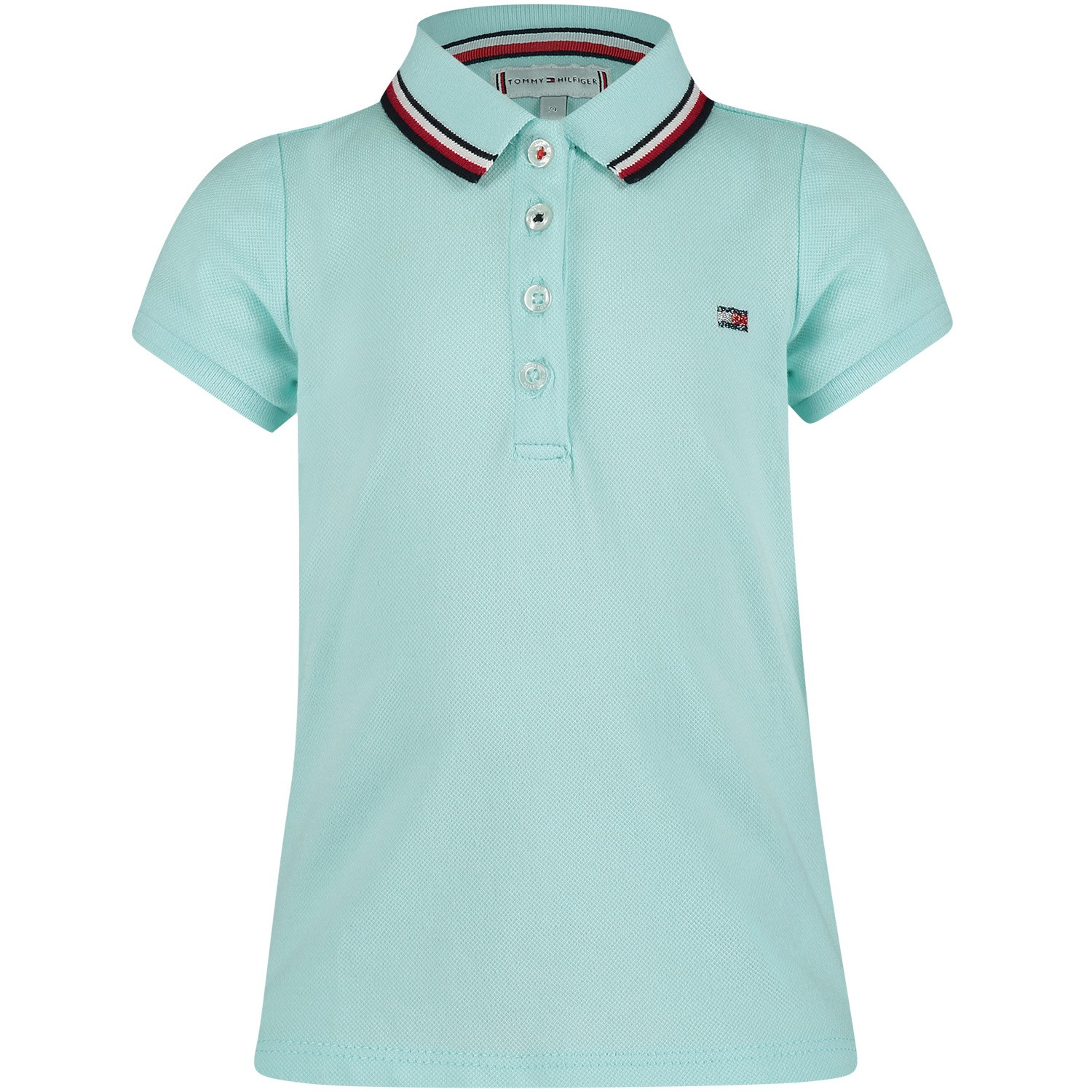 Afbeelding van Tommy Hilfiger KG0KG04222 B baby polo mint
