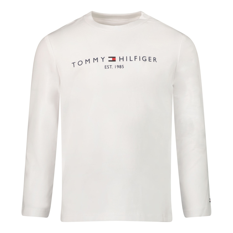 Afbeelding van Tommy Hilfiger KN0KN01249 baby t-shirt wit