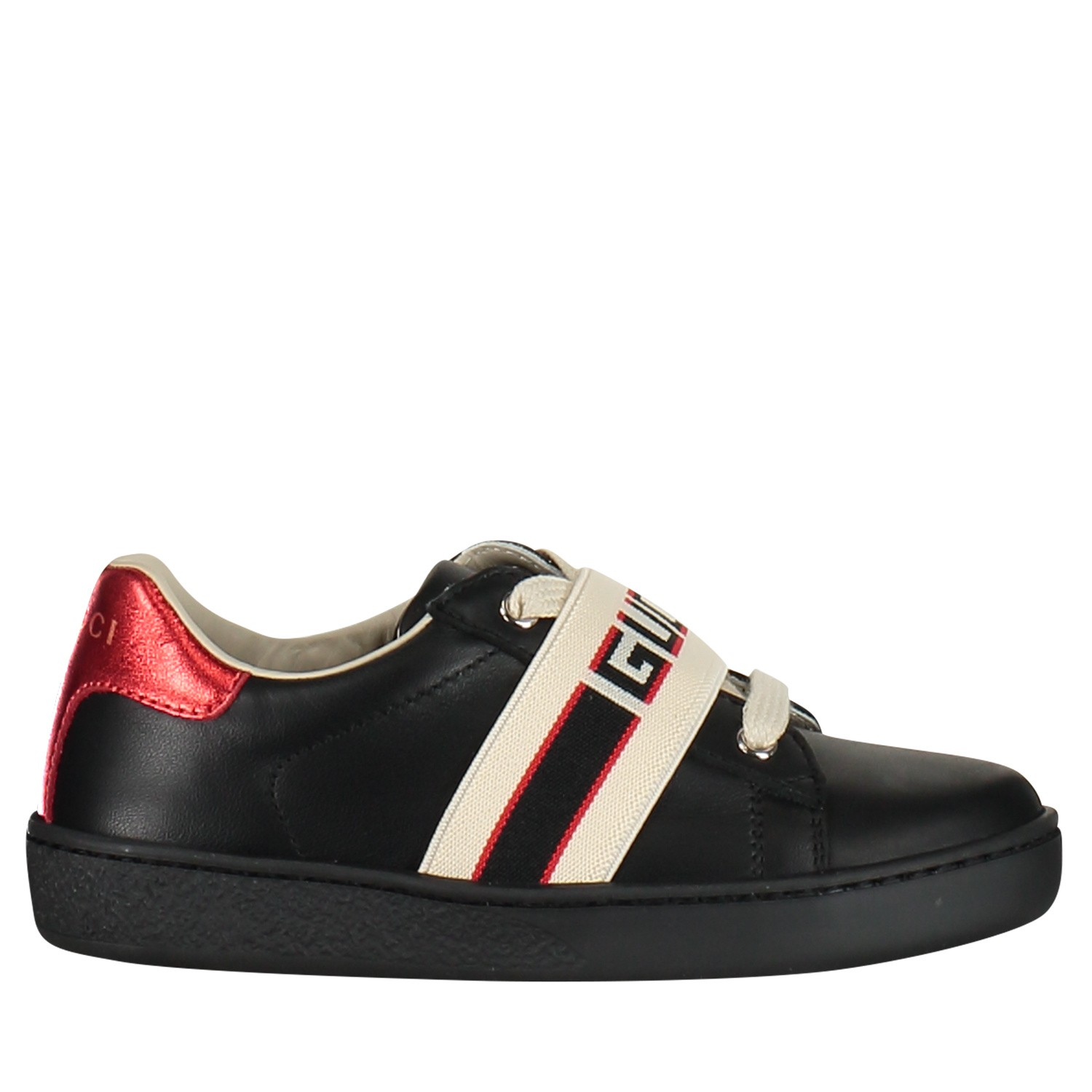 Picture of Gucci 552940 kids sneakers black