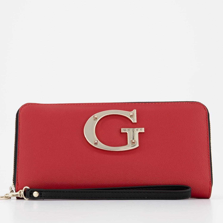 2f0e98e81f7 Guess Swvg7400460 dames dames portemonnee rood bij Coccinelle