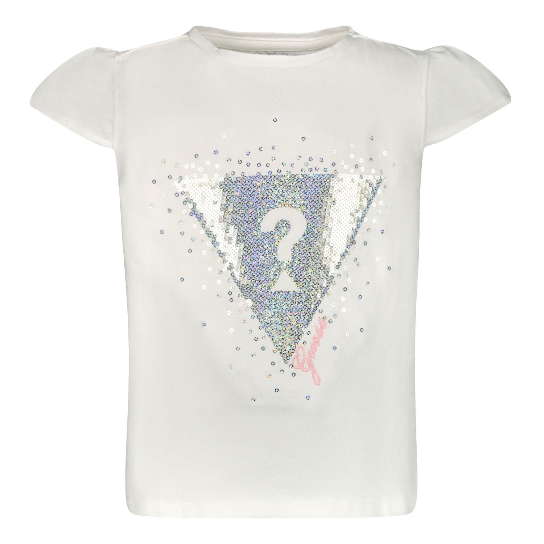 Afbeelding van Guess K02I18 kinder t-shirt wit