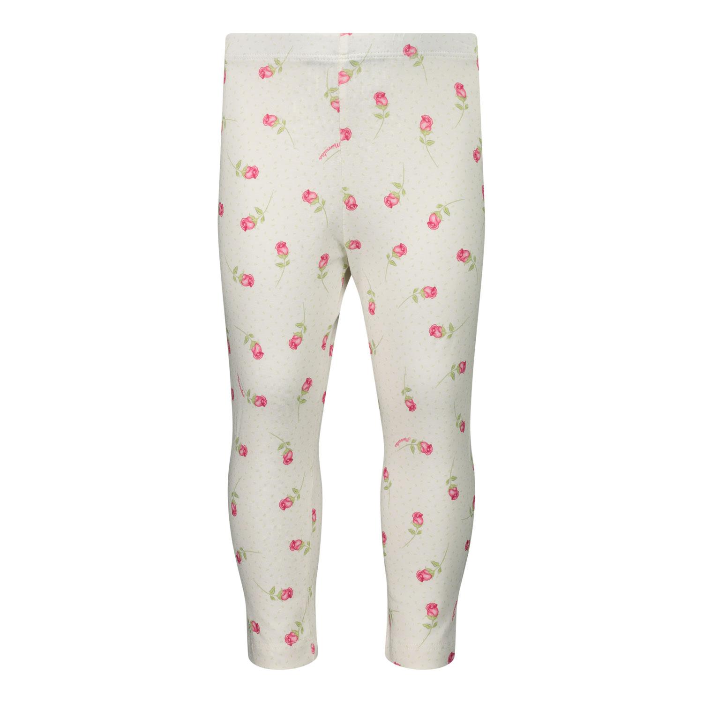 Afbeelding van MonnaLisa 317402 baby legging off white