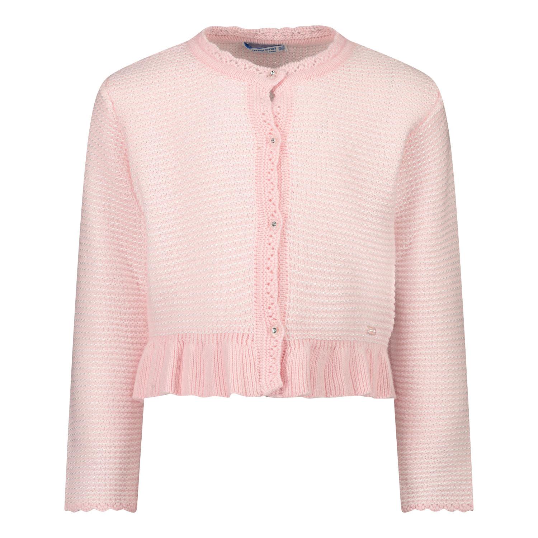 Afbeelding van Mayoral 2360 baby vest licht roze