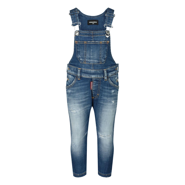 Afbeelding van Dsquared2 DQ02XK babybroekje jeans