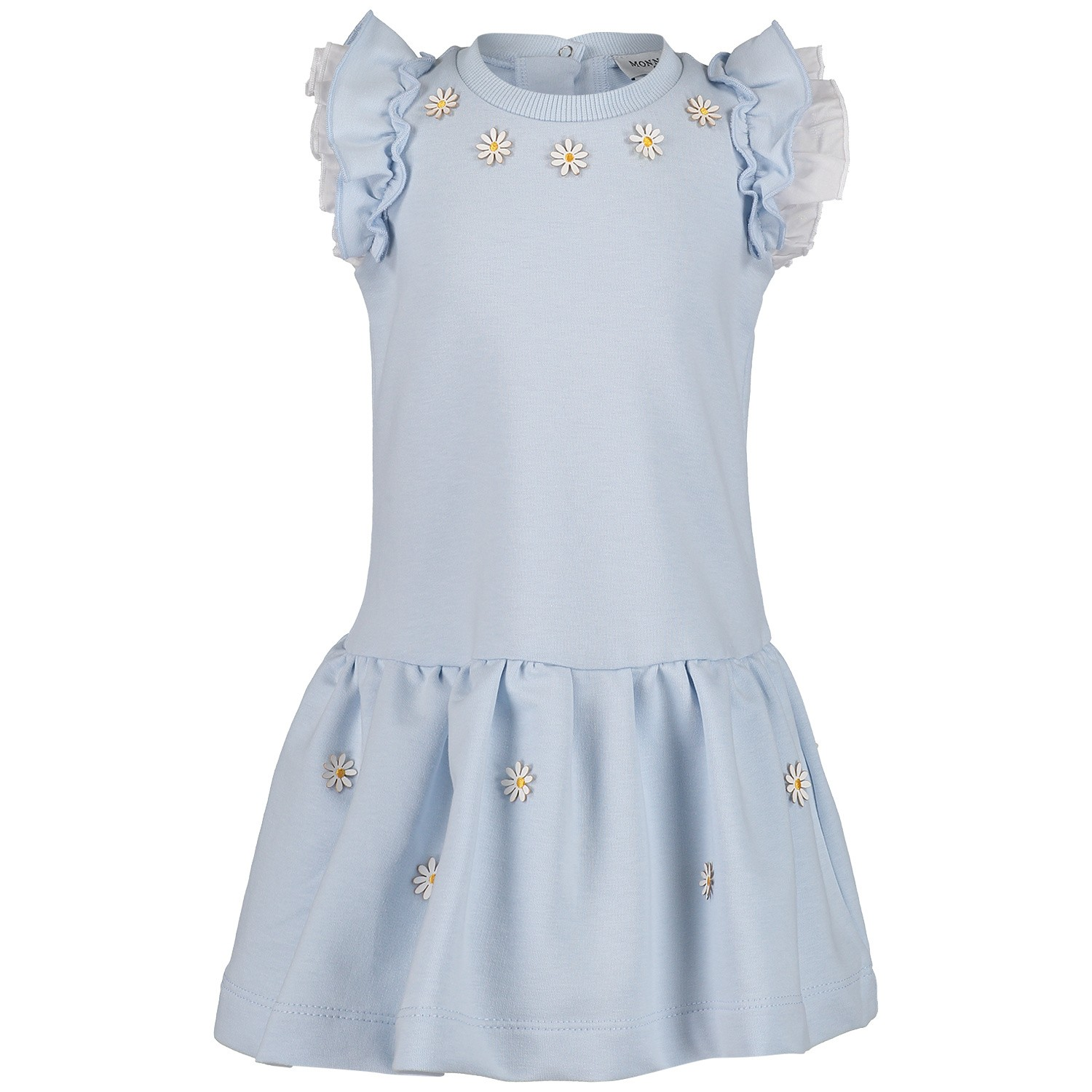 Picture of MonnaLisa 393904AN baby dress light blue