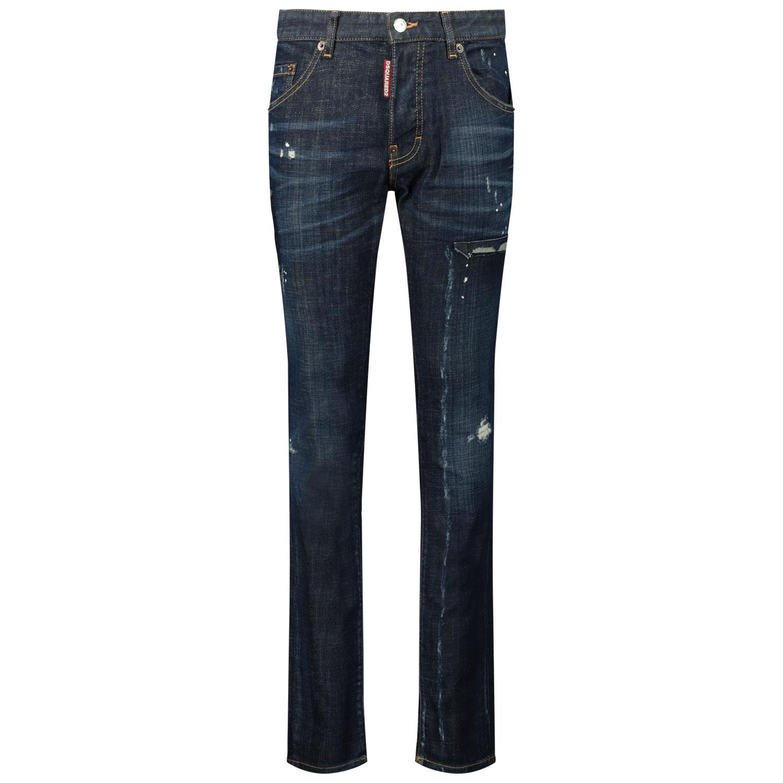 Afbeelding van Dsquared2 DQ0236 D005K kinderbroek jeans