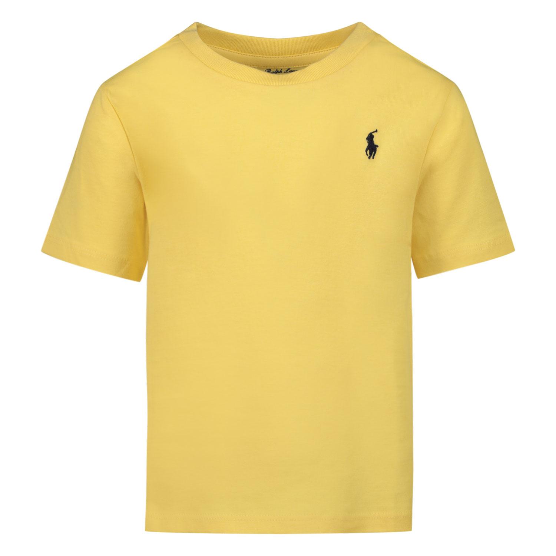 Afbeelding van Ralph Lauren 320832904 baby t-shirt geel