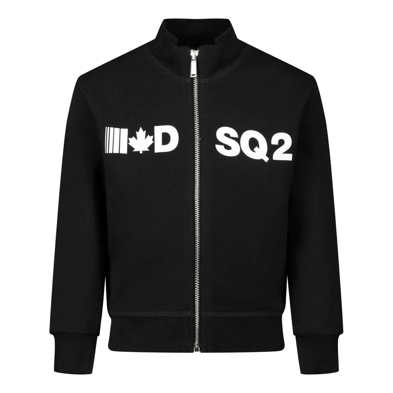 Afbeelding van Dsquared2 DQ04DA baby vest zwart