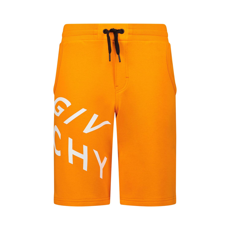 Afbeelding van Givenchy H24119 kinder shorts oranje