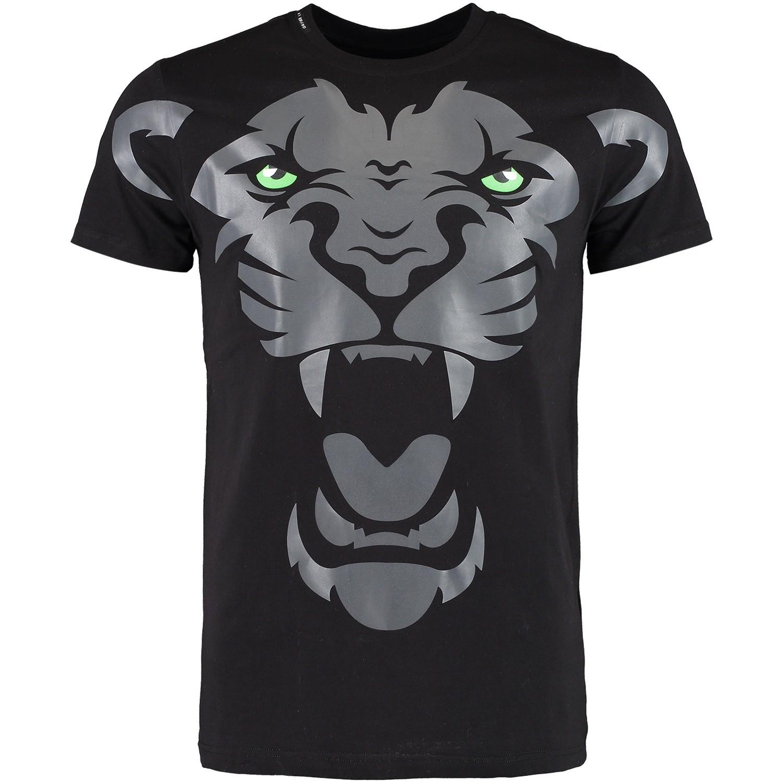 Afbeelding van My Brand MMBTS010GM002 heren t-shirt zwart
