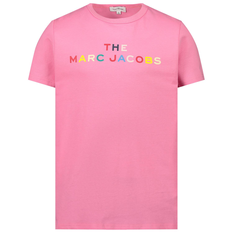 Afbeelding van Marc Jacobs W15510 kinder t-shirt roze