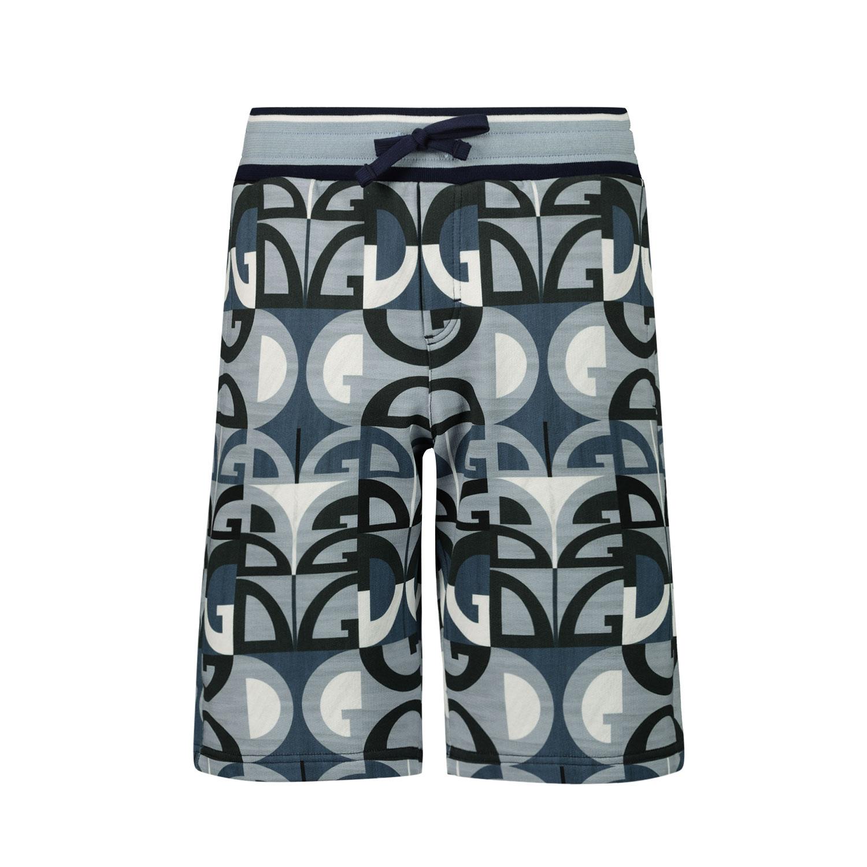 Afbeelding van Dolce & Gabbana L4JQC1 HS7C1 kinder shorts blauw