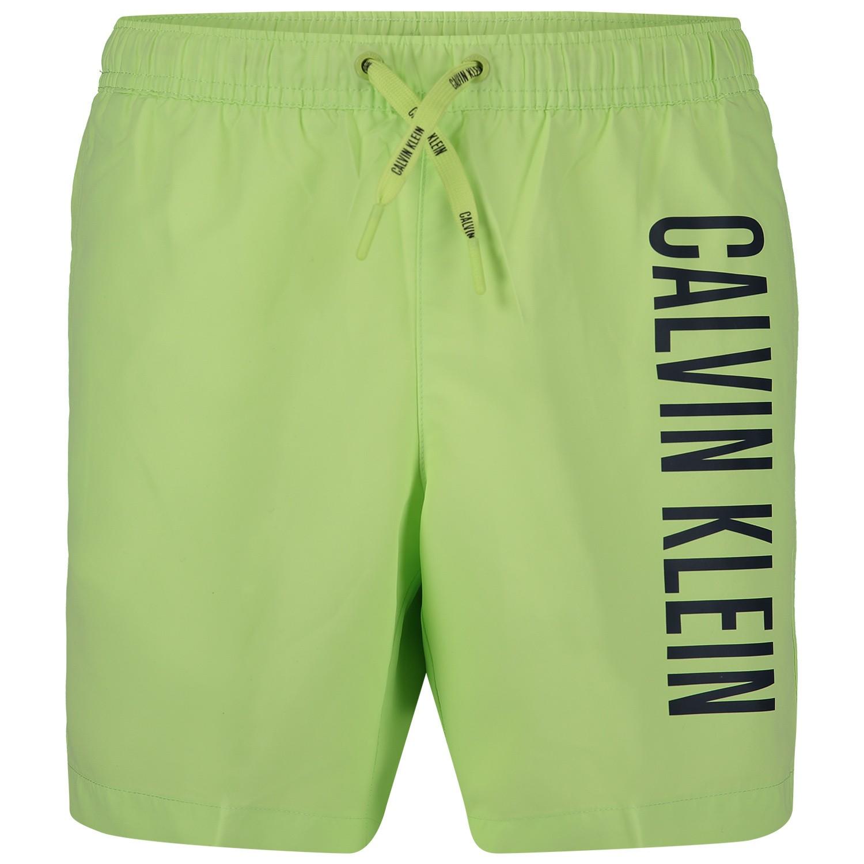 b9fea8f437dba9 Calvin Klein B70B700202 Kinder Zwemkleding Groen calvin klein kopen in de  aanbieding