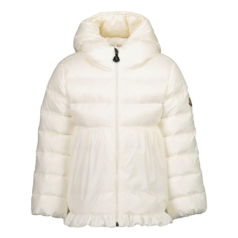 Afbeelding van Moncler 1A53010 babyjas off white