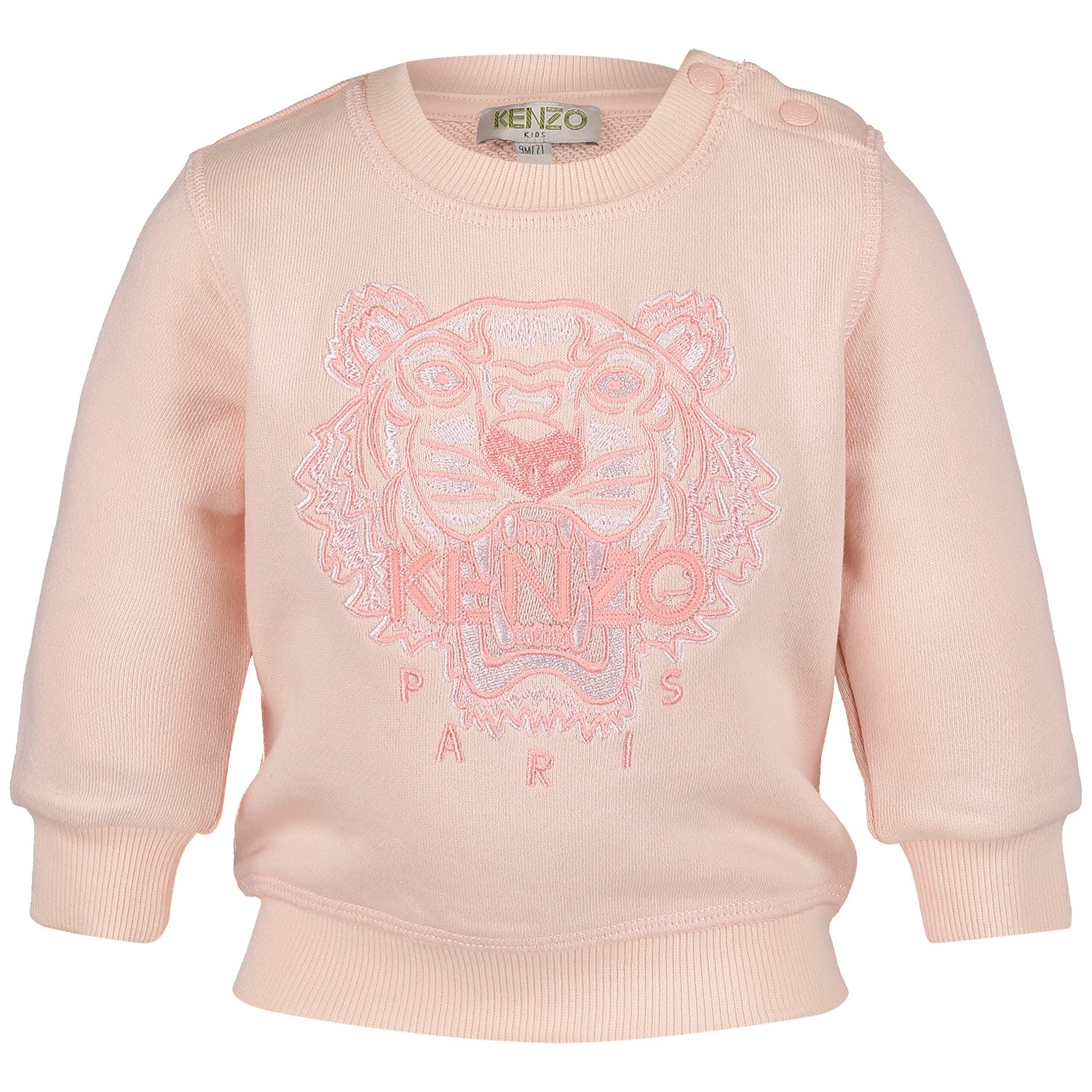 Picture of Kenzo KN15128BB baby sweater light pink