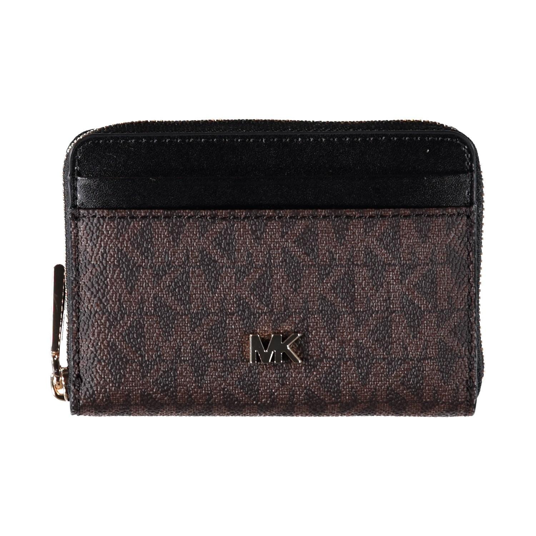 fd4182f127f Afbeelding van Michael Kors 32F8GF6Z1B dames portemonnee bruin