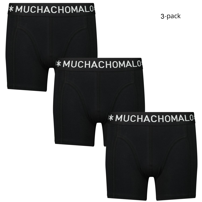 Afbeelding van Muchachomalo 1010JSOLID kinderondergoed zwart