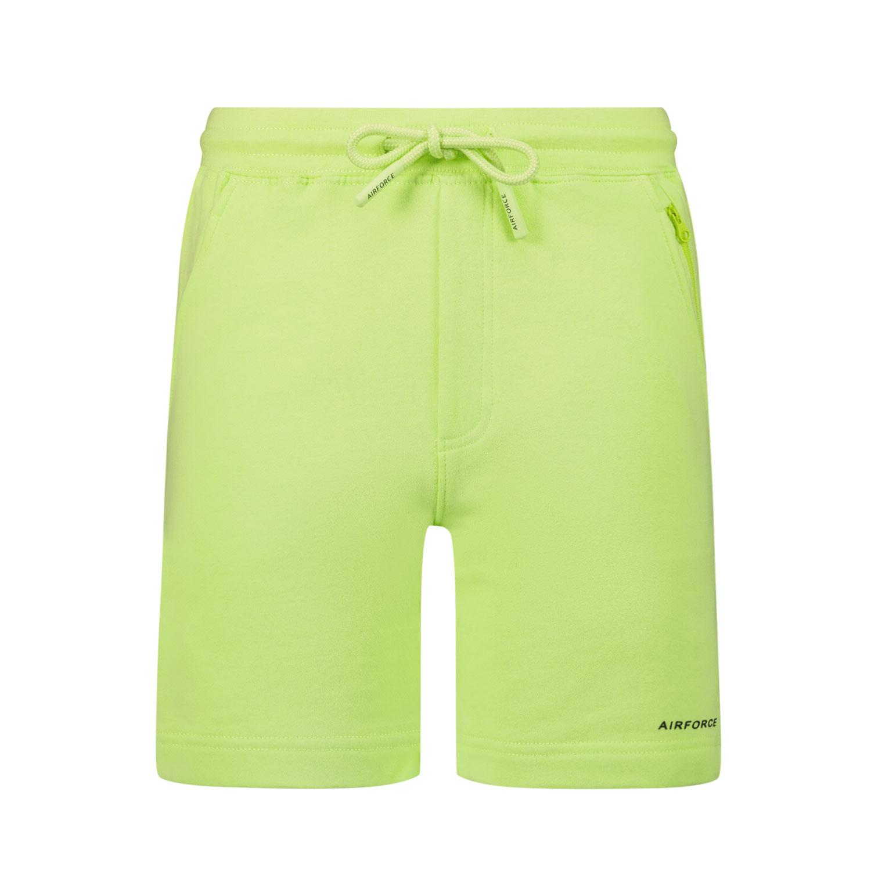 Afbeelding van Airforce GEB0710 kinder shorts fluor groen