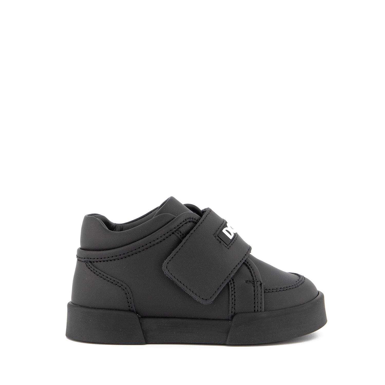 Afbeelding van Dolce & Gabbana DN0120 kindersneakers zwart