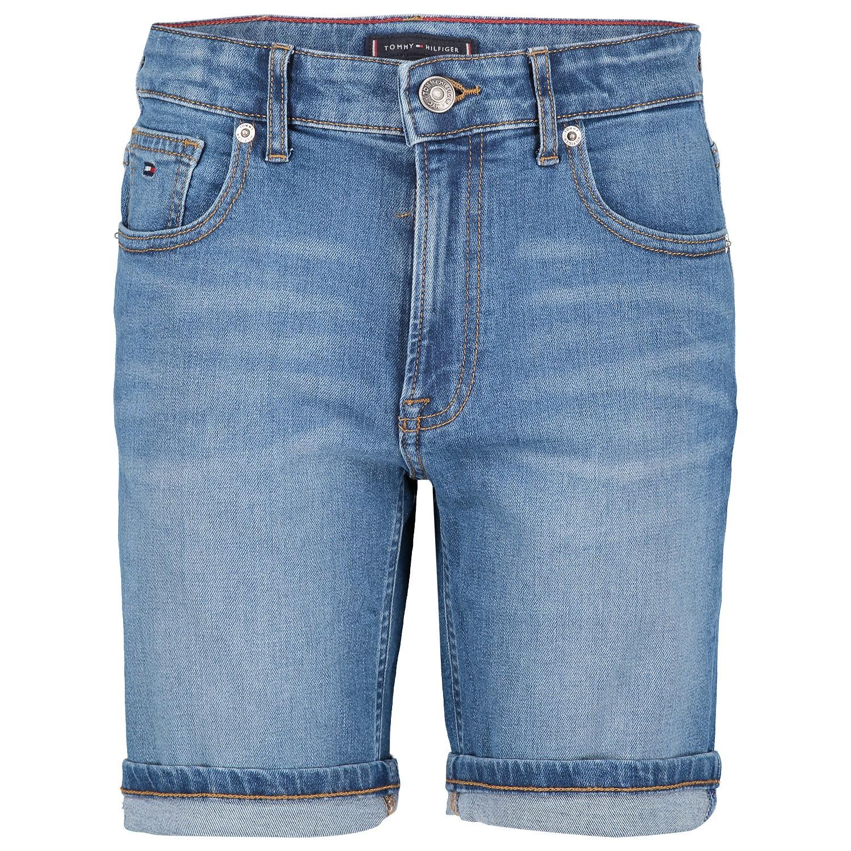 Picture of Tommy Hilfiger KB0KB04832 kids shorts jeans