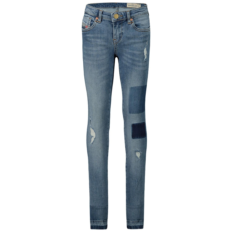 Afbeelding van Diesel 00J3S6 kinderbroek jeans