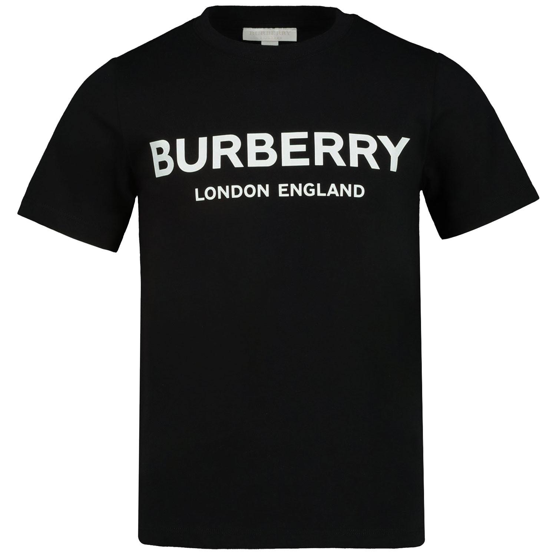 Afbeelding van Burberry 8008881 kinder t-shirt zwart