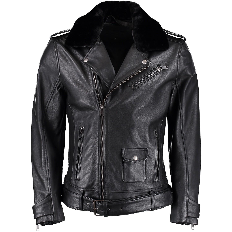 Afbeelding van Pure White 18030410 heren jas zwart